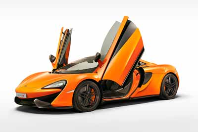 McLaren 570S coupe global reveal at FoS 2015