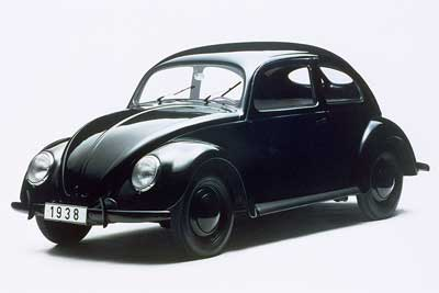 Original VW Beetle - The Volkswagen Story - carphile.co.uk