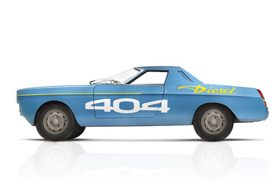 Peugeot 404 Record Car - Goodwood Festival of Speed 2015 preview - carphile.co.uk