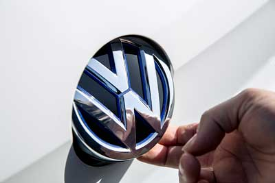 Volkswagen badge - The Volkswagen Story - carphile.co.uk