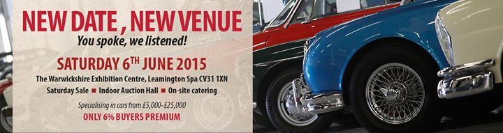 CCA June 2015 Classic car sale - carphile.co.uk