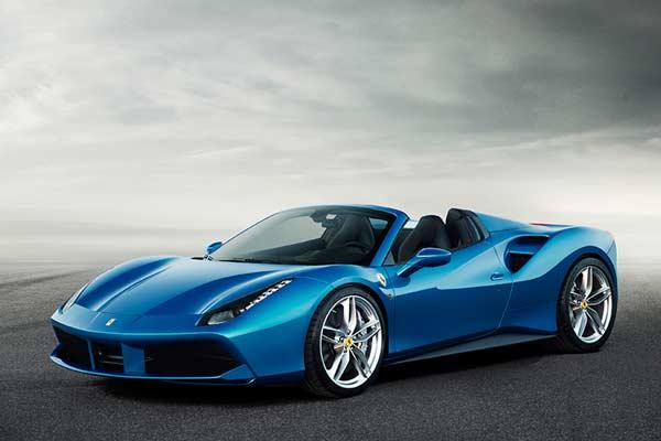 Ferrari 488 Spider revealed - carphile.co.uk