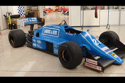 1983 Osella-Alfa Romeo F1 car