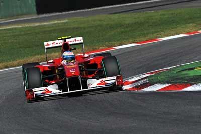 Ferrari F10 Formula 1 car - carphile.co.uk