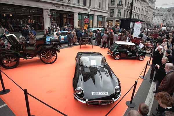 Regent Street Motor Show 2015 - carphile.co.uk