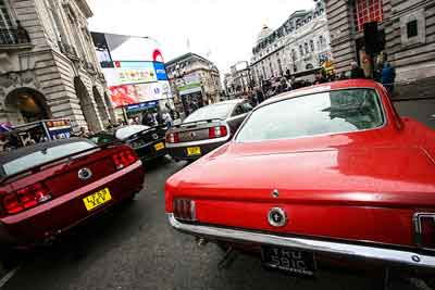 Ford Mustang at Regent Street Motor Show 2015 - carphile.co.uk