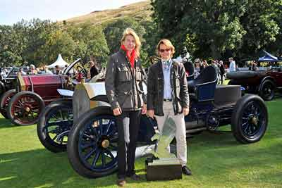 1903 Mercedes Simplex 60HP - Best-in-show winner at Concours of Elegance 2015