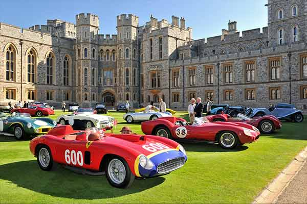 Concours of Elegance 2016 at Windsor Palace - carphile.co.uk