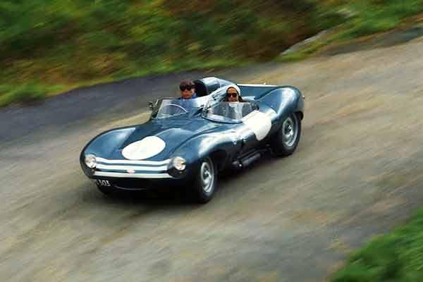 Jaguar D-Type - the highland tour video - carphile.co.uk