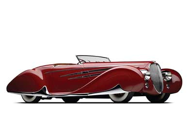 1939 Delahaye Type 165 Figoni et Falaschi - carphile.co.uk