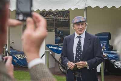 Sir Jackie Stewart at Concours of Elegance 2015