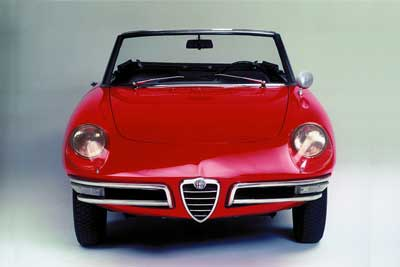 Alfa Romeo Duetto - Alfa Romeo Spider history - carphile.co.uk