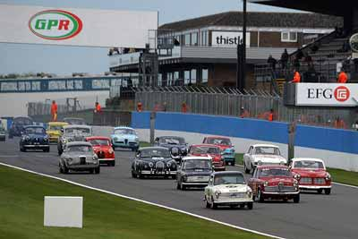 HRDC Touring greats - historic racing at Donington - carphile.co.uk