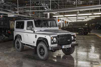 Defender 2,000,000 - Land Rover History - carphile.co.uk
