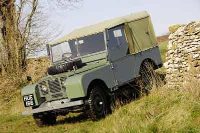 Land Rover History - Series 1 Hue 166