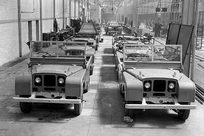 1948 Land Rover prototypes - Land Rover History - carphile