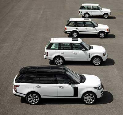 Range-Rover-generations