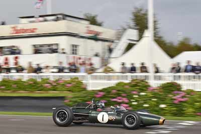 Brabham BT11 racing car at Goodwood Revival 2016 - carphile.co.uk