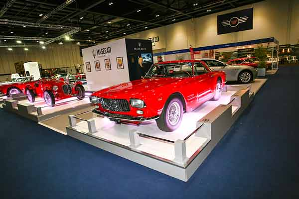 London Classic Car Show Classic Car Shows Carphile - London classic car show