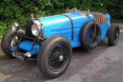 1980 Teal Bugatti replica
