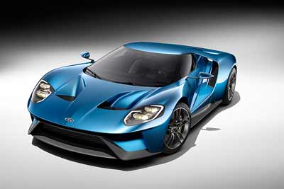 Cars of 2015 - 2016 Ford GT - carphile.co.uk