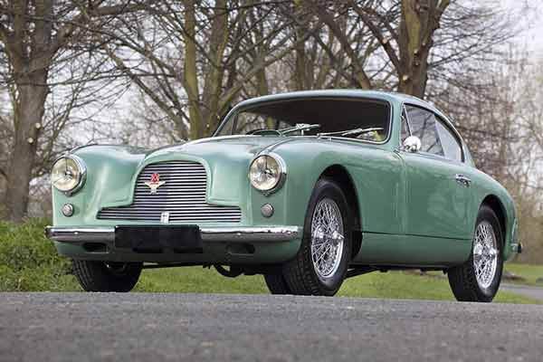 Aston Martin DB2/4 for sale - Baron's Auctions Tattersalls sale 2016 - carphile.co.uk