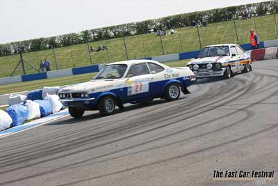 Fast-car-festival-track-action