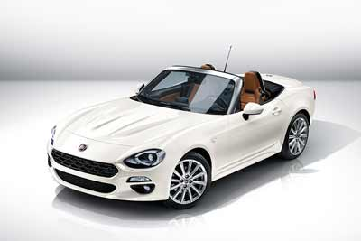 Cars of 2015 - Fiat 124 Spider - carphile