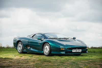 Jaguar XJ220 for sale at Race Retro 2016 - carphile.co.uk