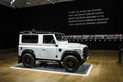 Cars of 2015 - Defender 2,000,000 - carphile.co.uk