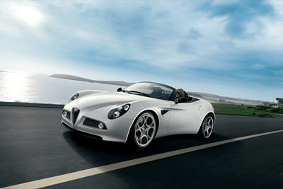 Alfa-8c-Spider-technical-data
