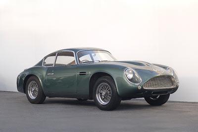 Aston Martin DB4 Zagato - Image (c) copyright Aston Martin Lagonda Ltd