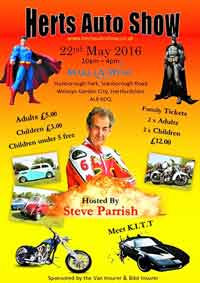 Herts Auto Show 2016 poster - carphile.co.uk