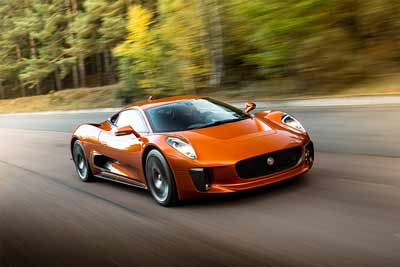 Jaguar C-X75 - cars not to miss at the performance car show - carphile.co.uk