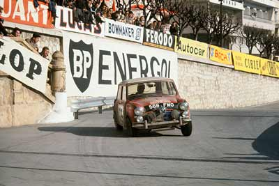 Mini Cooper wins Monte Carlo Rally - carphile.co.uk