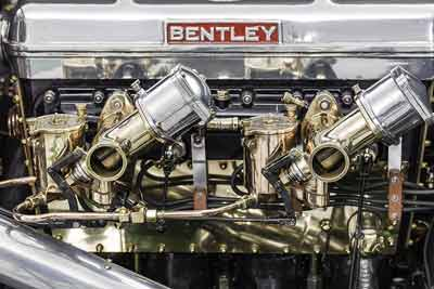 Bentleys-First-Le-Mans-car-engine