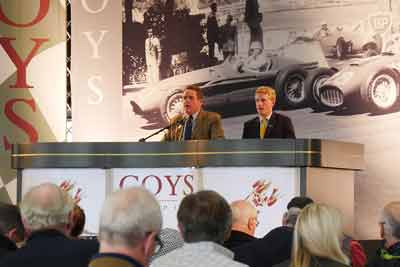 Boys auction at Classic and Sportscar show 2016 - carphile.co.uk