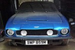 1973 Aston Martin V8 barn find - Classic car Auctions March 2016 sale preview - carphile.co.uk