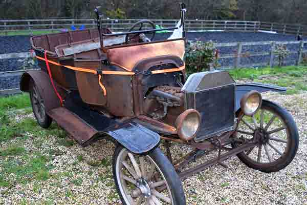 Model T Restoration - Beaulieu Spring Autojumble 2016 - carphile.co.uk