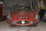1963 Jaguar E-Type hedge find for sale - car auction news - carphile.co.uk