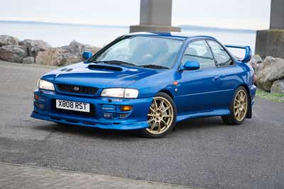 2000 Subaru Impreza P1 for sale at Classic Car Auctions