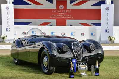 Jaguar XK120 Jabbeke - Salon Privé 2016 - carphile.co.uk
