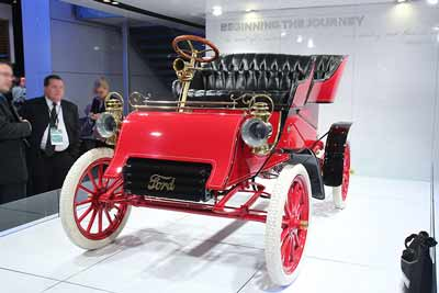 1903 Ford Model A - the oldest surviving Ford car