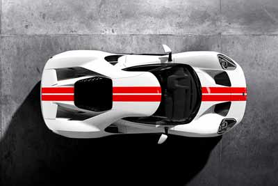 2016 Ford GT supercar