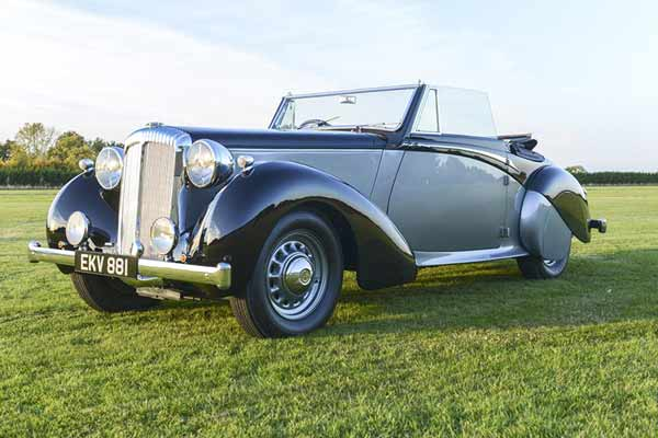Coys Blenheim Palace Sale - classic car auctions - carphile.co.uk