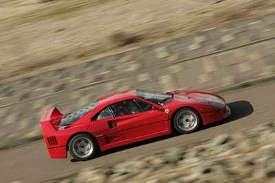 Ferrari F40 - Greatest supercar of all time vote - carphile.co.uk