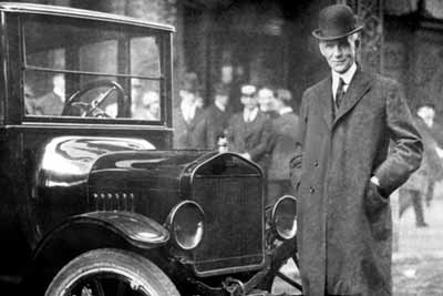 Ford Model T and Henry Ford