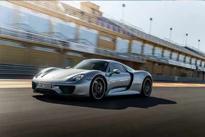 Porsche 918 spyder - Greatest supercar of all time vote - carphile.co.uk