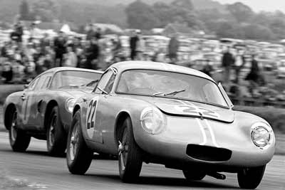 First-production-Lotus-Elite-racing