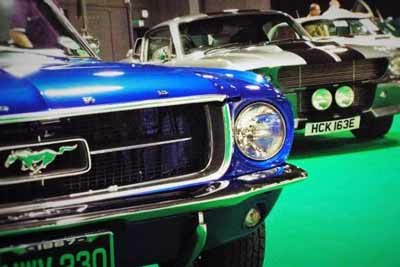 Parking is free for all (whether you drive a classic Ford Mustang or not)